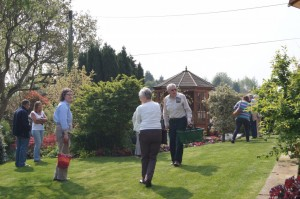 On Plantagogo open days you can walk, talk, sit and look at our private garden.