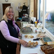 Home made cakes at the Plantagogo open day