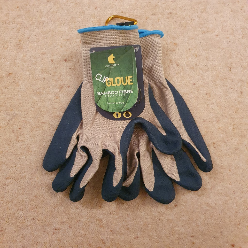 Treadstone Clip Glove 'Bamboo Fibre' Mens Gardening Glove Size Large