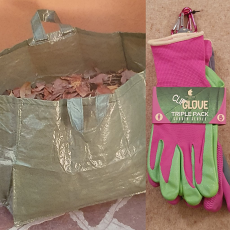 Glove & Gardening Sack Gardening Duo Offer