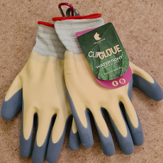 Treadstone Clip 'Watertight' Ladies Gardening Gloves - Size Medium