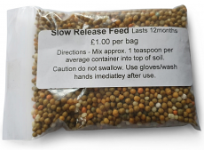 Slow Release Feed