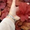 Heuchera Fire Alarm leaf size