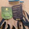 Treadstone Clip Glove 'Bamboo Fibre' Mens Gardening Glove Size Large